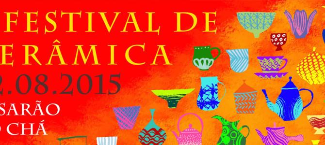 2° Festival de Cerâmica no Casarão do Chá