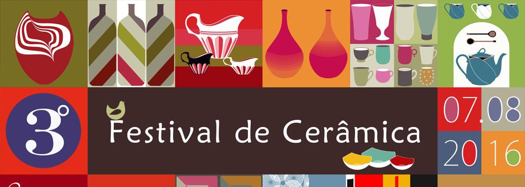 3º Festival de Cerâmica no Casarão do Chá