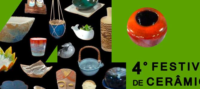4° Festival de Cerâmica do Casarão do Chá
